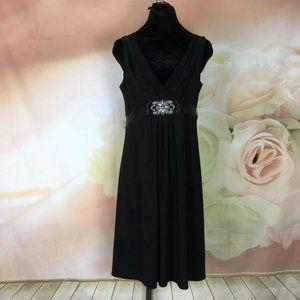 Scarlett Nite Black Sleeveless Dress Size 10